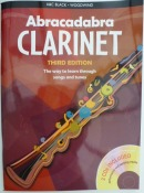 Abracadabra Beginners Book for Clarinet with C.D