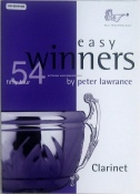Easy Winners 54 tunes for clarinet. with CD
