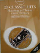 20 Classic Hits. Playalong for clarinet