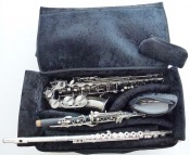 Triple instrument Gig for alto saxophone, clarinet and flute