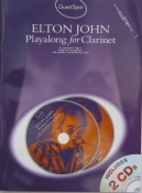 Playalong Clarinet Elton John. Guest Spot Series with 2 C.D