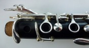 Pair Of Wooden Marigaux Clarinets A / Bb