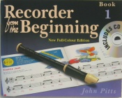 Recorder From The Beginning Book 1 with C.D